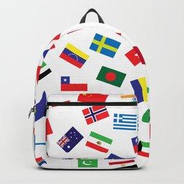 World Flag Backpack