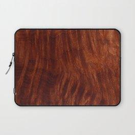 Beautiful Unique mahogany red wood veneer design Laptop Sleeve