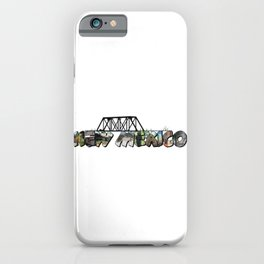 New Mexico Big Letter iPhone Case