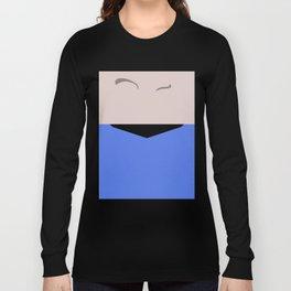 Spock - Minimalist Star Trek TOS The Original Series - Trektangle - Trektangles - startrek Long Sleeve T-shirt