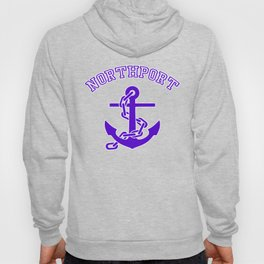 Northport-Anchor-Purple Hoody