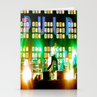 coachella Stationery Cards featuring PULP in Coachella by The Electric Blue / YenHsiang Liang
