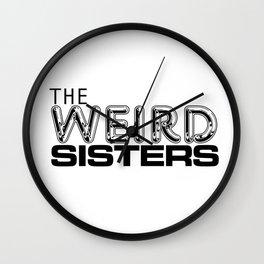 Weird Sisters Wall Clock