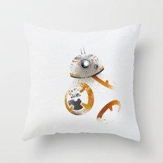 Astromech Beebee-Ate Throw Pillow