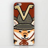 shiba iPhone & iPod Skins featuring Shiba Inu by Lottie