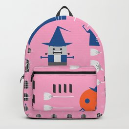 Fantastic Halloween in pink Backpack