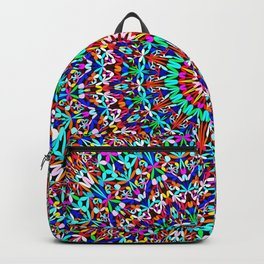 Colorful Life Garden Mandala Backpack