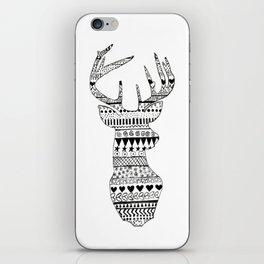 Patterned Deer iPhone Skin