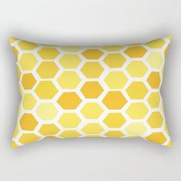 Beehive Pattern by Friztin Rectangular Pillow