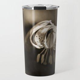 Grace a beautiful wildflower Turks Cap lily Travel Mug