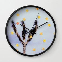 Desert Stars Wall Clock