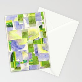 Purple Collage Stationery Cards