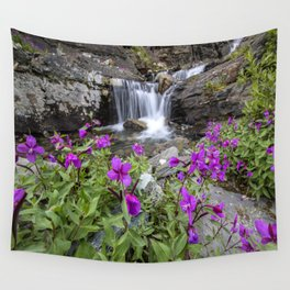 Secluded Waterfall Wall Tapestry