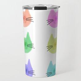 Cat Butt Head Travel Mug