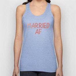 Married AF Unisex Tank Top