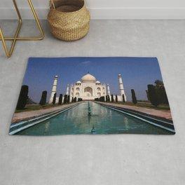 Taj Mahal Agra Indien Rug