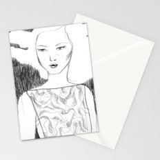 White Pollen Stationery Cards