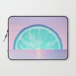 When life gives you lemons - Surreal Lemon Collage Sunset Laptop Sleeve