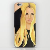 britney iPhone & iPod Skins featuring BRITNEY SPEARS  .- BRITNEY JEAN  by Alfonso Aranda