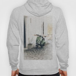 Green Moped Hoody