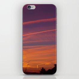 Neon Chemtrails iPhone Skin