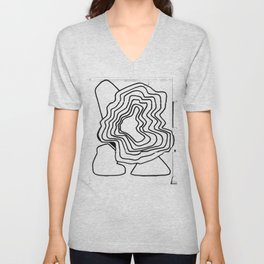 From Simplicity to Complexity - [Emanating Intensifies] Unisex V-Neck