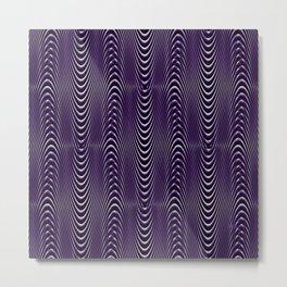 Purple People's Illusions..... Metal Print