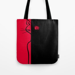 The Black Cat ~ From Sinners And Saints ~ Bohème Tote Bag