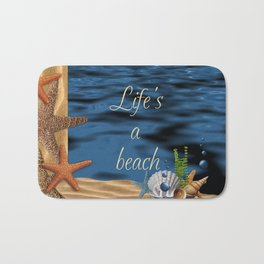 Life's A Beach Bath Mat