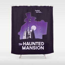 Hatbox Ghost - World Shower Curtain
