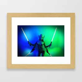 Baby Grevious Framed Art Print