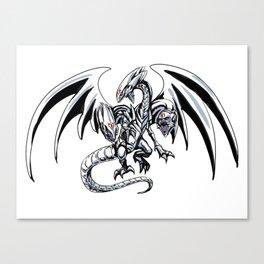 Blue-Eyes Ultimate Draon Canvas Print