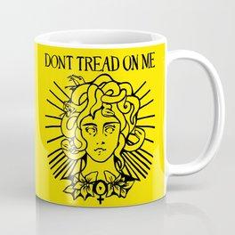 Medusa: Don't Tread On Me (Yellow) Coffee Mug