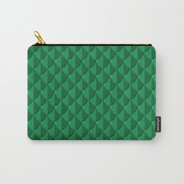 Jade Dragon Scales Carry-All Pouch
