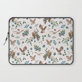 Woodland Owls in Daylight Laptop Sleeve