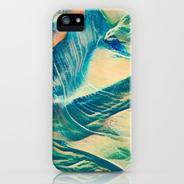 Sandy Waves iPhone Case