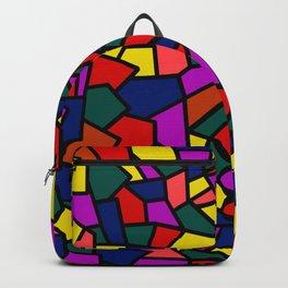 Abstract mosaics Backpack