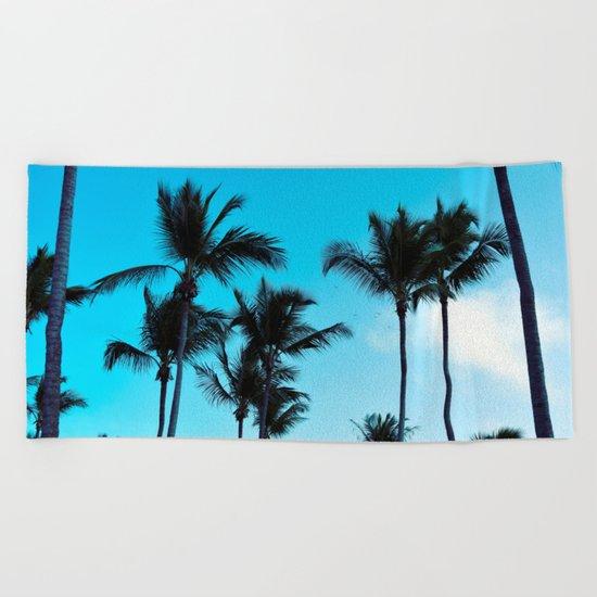 Coconut trees | Praia do Espelho | Brazil Beach Towel