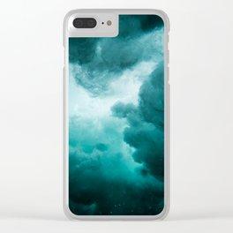 Underwater perturbation Clear iPhone Case