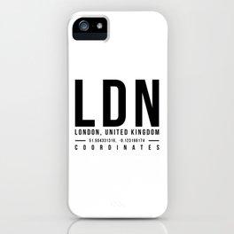 London iPhone Case