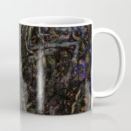Tree Root Fractal Coffee Mug