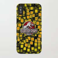 jurassic park iPhone & iPod Cases featuring JURASSIC PARK by BeautyArtGalery
