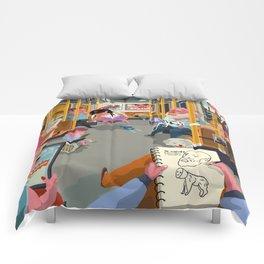 Budapest underground Comforters