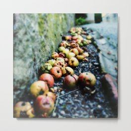 Apfel Metal Print