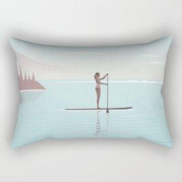 Stand Up Paddle Rectangular Pillow