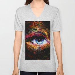 Mistical eye Unisex V-Neck