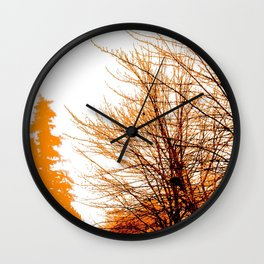 Autumn in Lynnwood Wall Clock