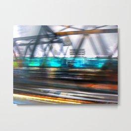 rail flyby  Metal Print