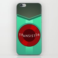 transistor iPhone & iPod Skins featuring Transistor by Spiritius