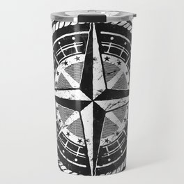 Compass Rose Travel Mug